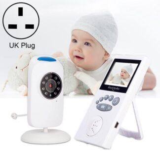 Direct-security WLSES GB101 2,4 inch draadloze bewakingscamera babyfoon, UK-stekker