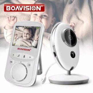 Draadloze Lcd Audio Video Babyfoon - Radio Muziek Intercom Thermo 24H Draagbare Camera Baby Walkie Talkie Babysitter Babyphone | FaQood