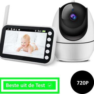 GetYourGadget® Babyfoon Met Camera - Sterk Zendbereik - Groot LCD Scherm - 2020 Model