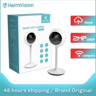 HeimVision - 1080P beveiligingscamera, HMA2 WiFi-binnencamera voor huis voor huisdier / oppas / babyfoon, IP-bewakingscamera met slimme nachtzicht, tweerichtingsaudio, bewegingsdetectie, flexibel en compact