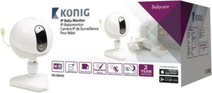 IP camera babyfoon - Audio en video - Baby camera - Draadloos