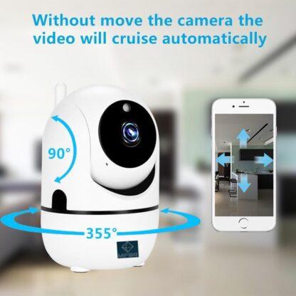 MIFOR® Beste Baby Camera , WIFI-Veilige Camera , Bewakingscamera , Babyfoon , Baby-Phone , Two-way-communicatie , Bewegingsdetectie , Nachtvisie , Werkt met IOS & Android