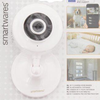 Smartwares - indoor Wifi camera - HD - motion detection - nightvision - incl. microfoon en speaker - babyfoon