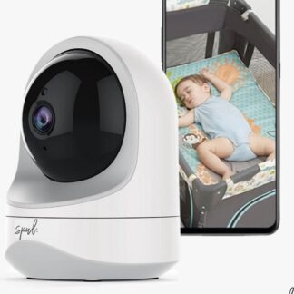 Spul. Smarteye Babyfoon Camera - Smartphone Beveiligingscamera - WIFI - Night vision - Spraakfunctie - Bewegingsdetectie - Wit