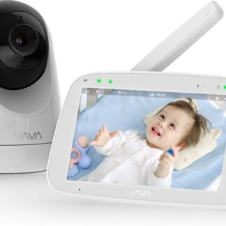 VAVA Beste Baby Camera , WIFI-Veilige Camera , Bewakingscamera , Babyfoon , Baby-Phone , Two-way-communicatie , Bewegingsdetectie , Nachtvisie , Werkt met IOS & Android, RED DOT Award 2019
