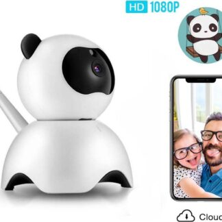 Video Babyfoon - Baby-bewakingscamera - Wit