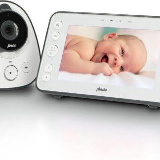 """Alecto Baby DVM-150 Babyfoon met camera - extra groot 5"""" scherm"""