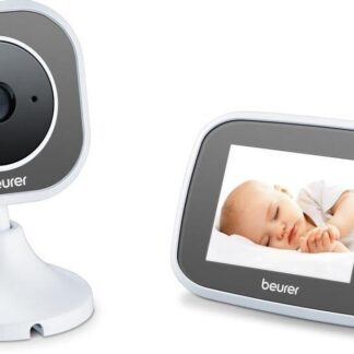 Beurer BY110 - Babyfoon met camera + XL ouderunit - Eco+